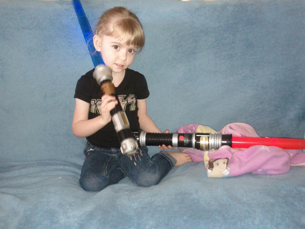 Princess Jedi by Casperium