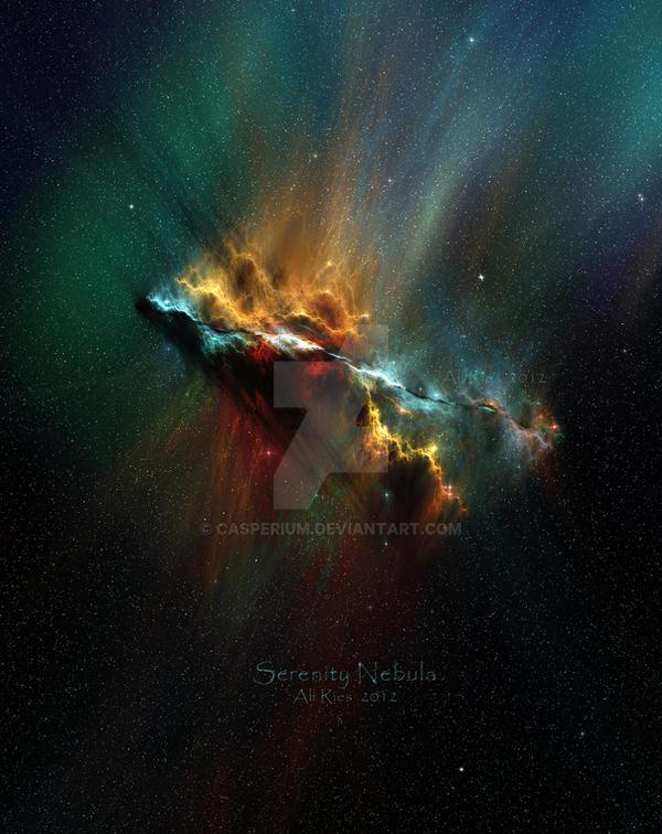 Serenity Nebula by Casperium