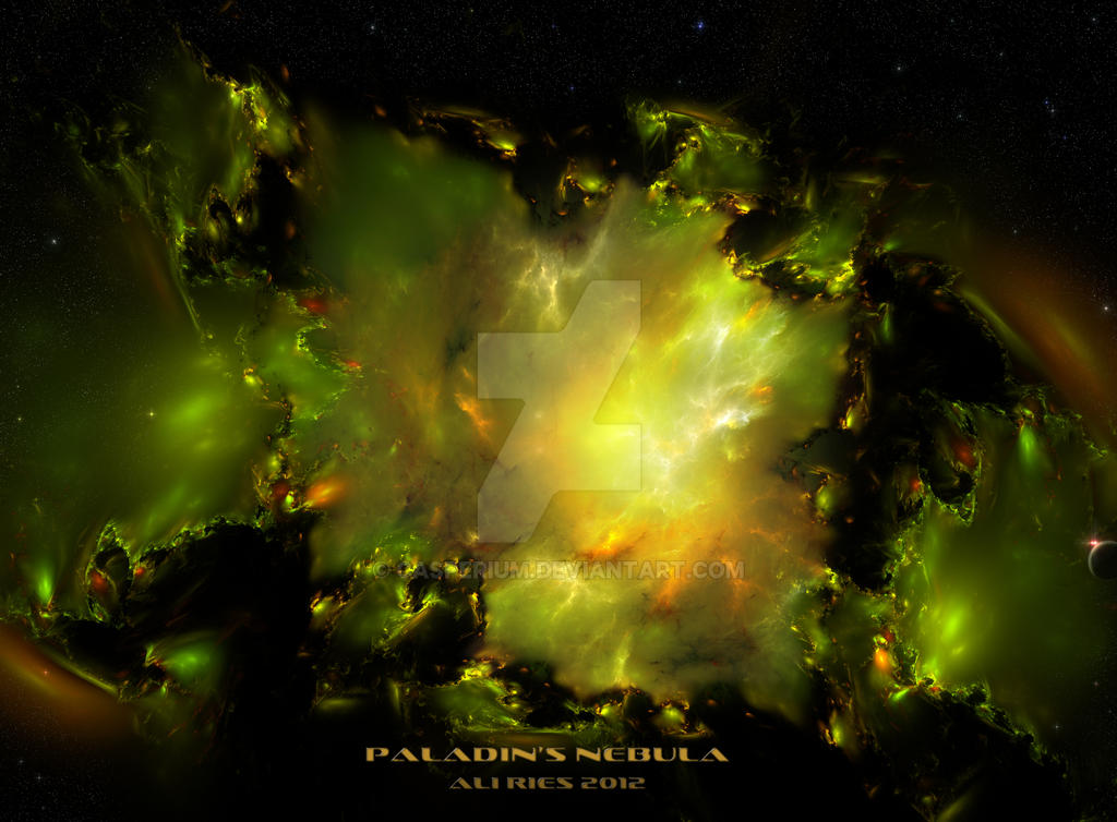 Paladin's Nebula by Casperium