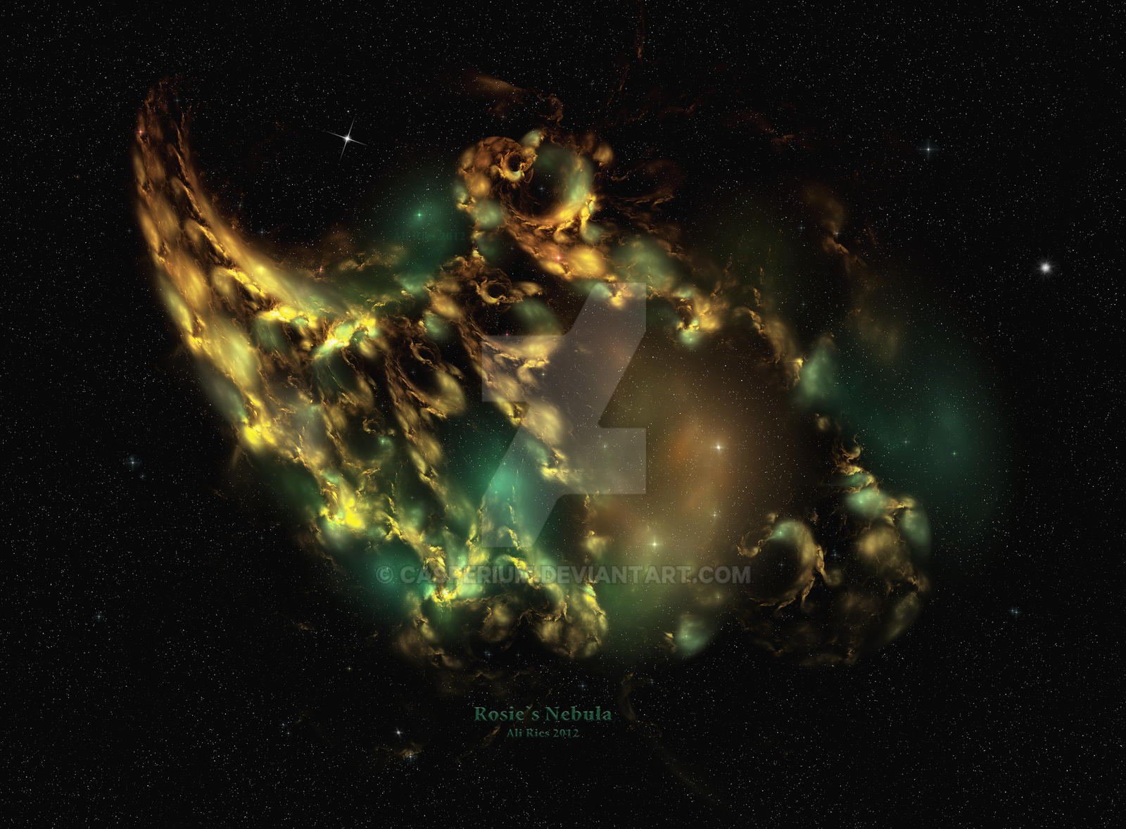 Rosie's Nebula by Casperium