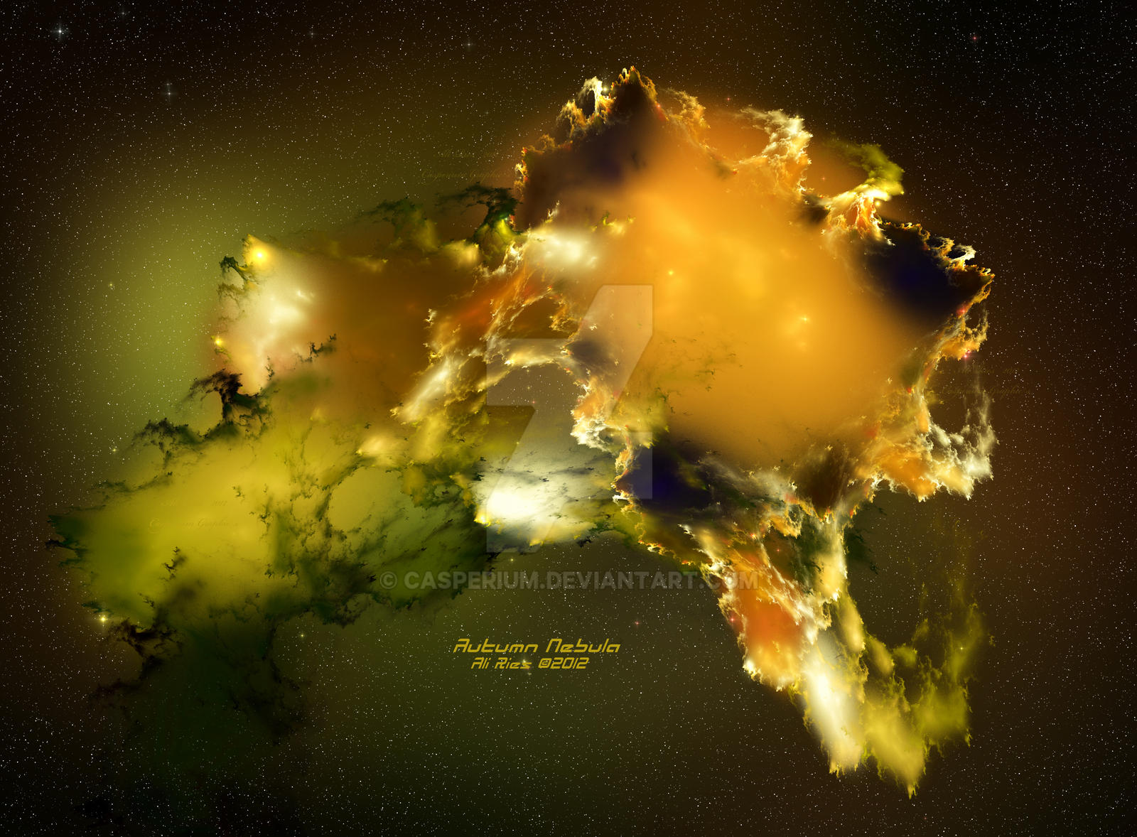 Autumn Nebula by Casperium