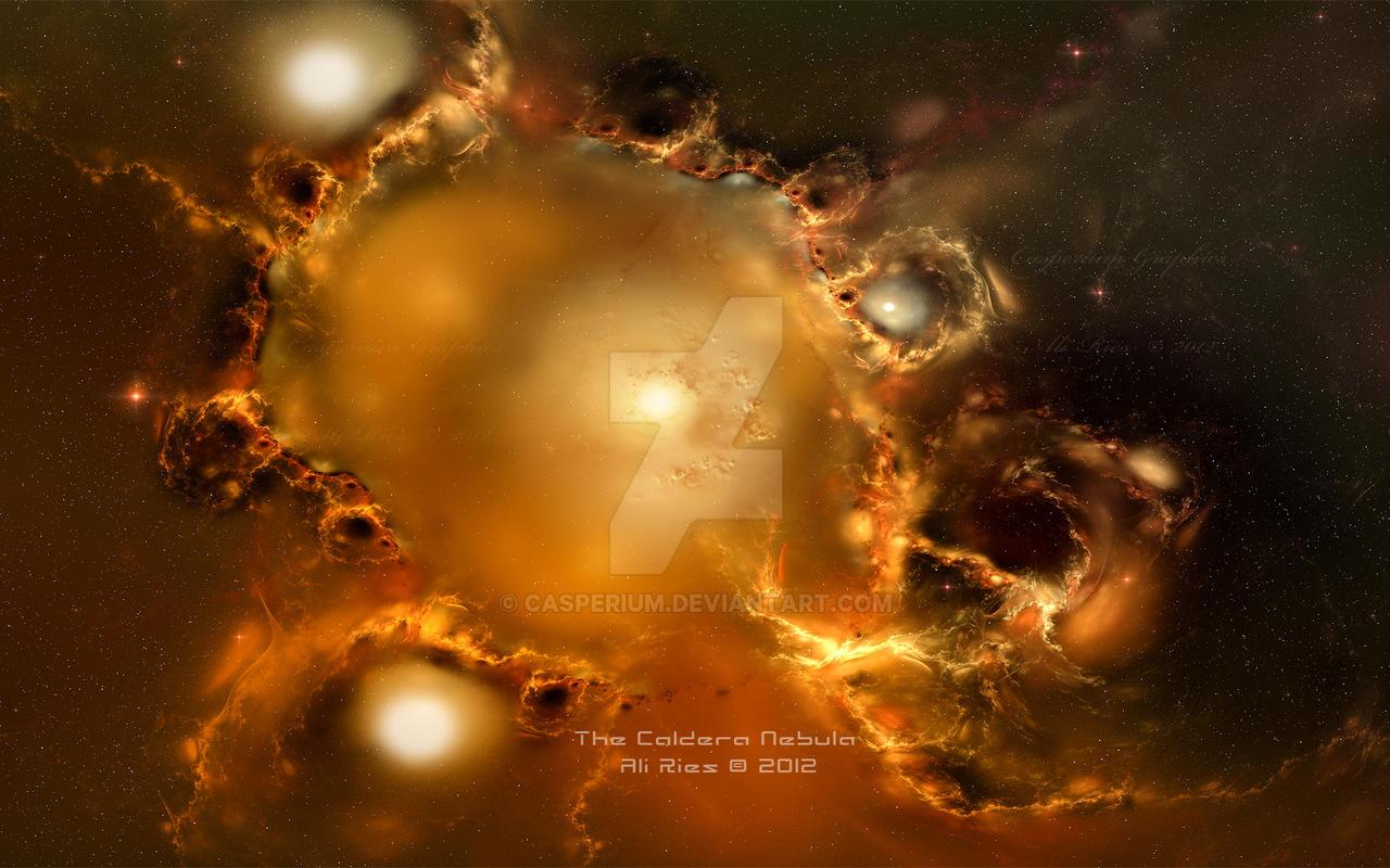 The Caldera Nebula by Casperium