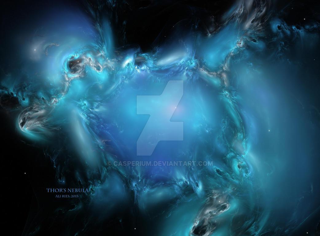 Thor's Nebula by Casperium