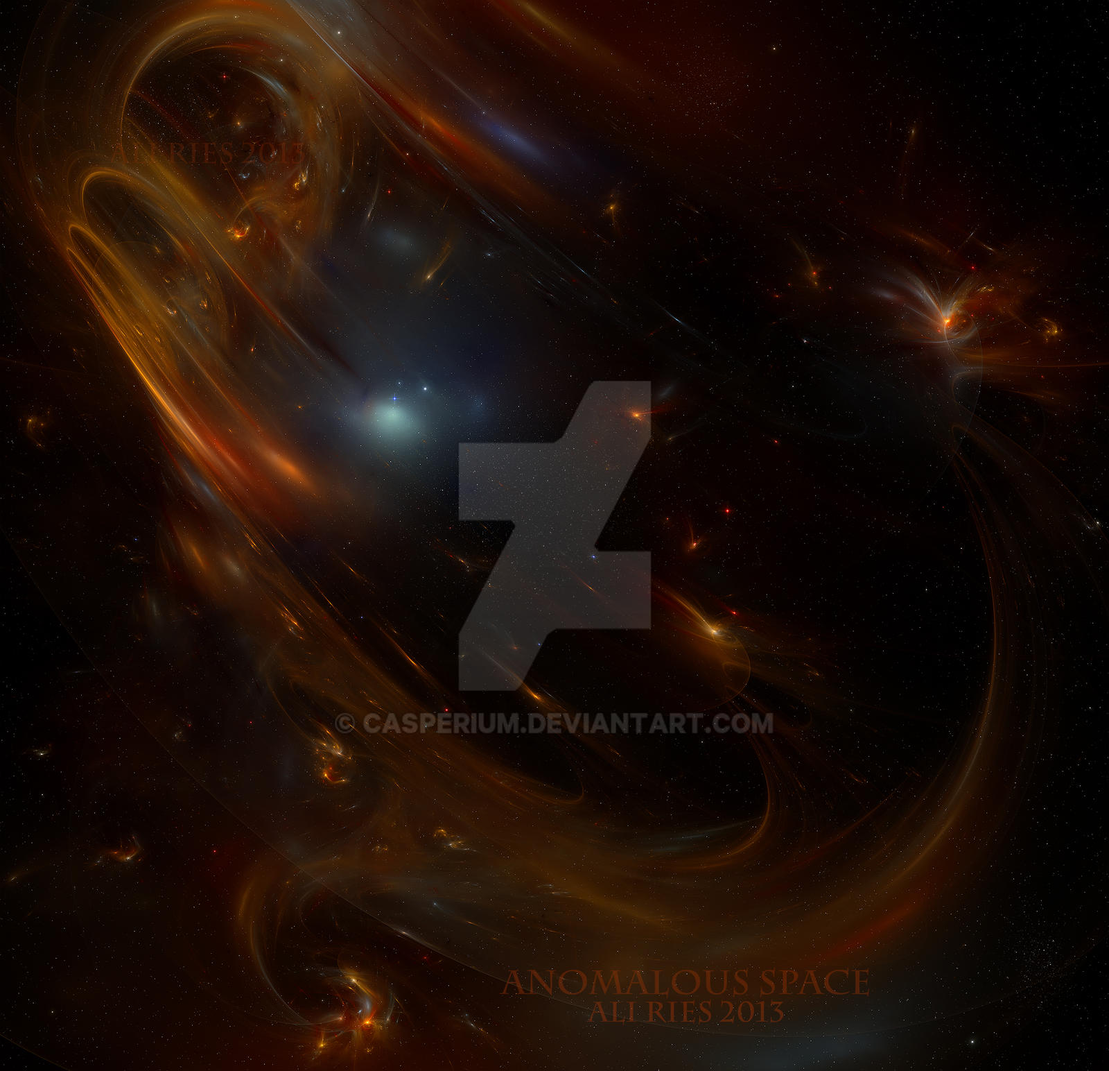 Anomalous Space by Casperium