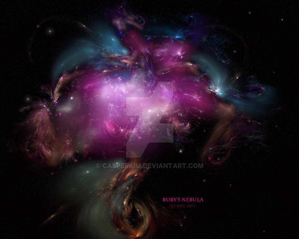 Ruby's Nebula by Casperium