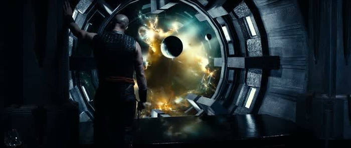 Riddick Movie with my Nebula