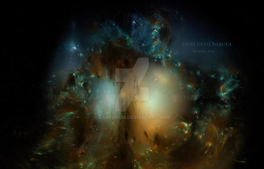 Dust Devil Nebula by Casperium