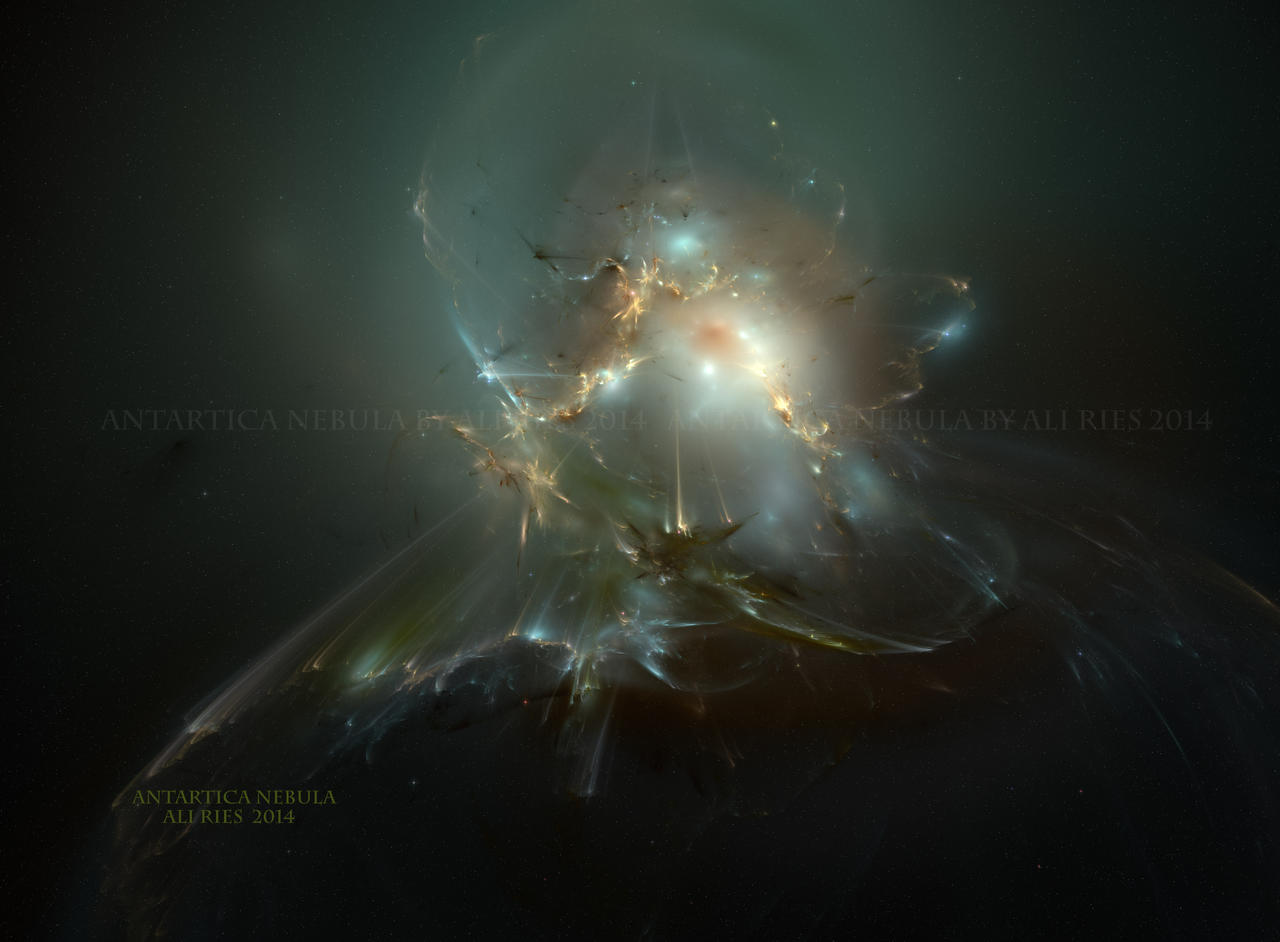 Antartica Nebula by Casperium