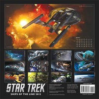 Star Trek Ships of the Line 2015 by Casperium