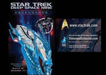 Star Trek  DS9 Ascendance  Cover by Drexler-Ries by Casperium