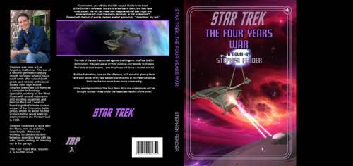 Star Trek the Four Years War book cover by Casperium