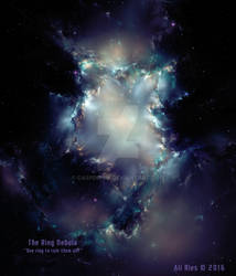 The Ring Nebula by Ali Ries 2016
