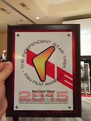 Star Trek Fan Film  VFX Award for Axanar 2015 by Casperium