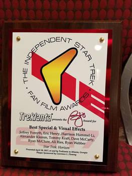 Treklanta 2017 Award