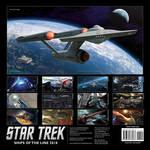 2018 Ships of the Line Star Trek Calendar by Casperium