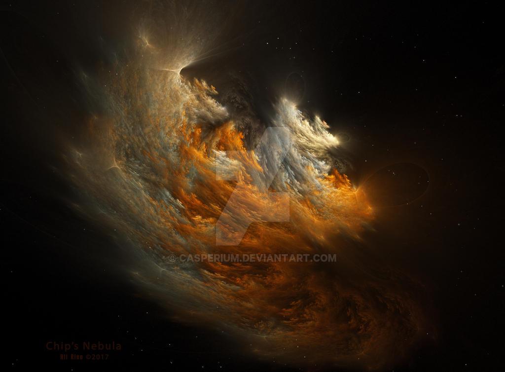 Chip's Nebula by Ali Ries 2017 by Casperium