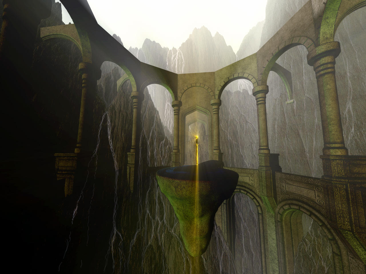 Mystic Chasm by Casperium