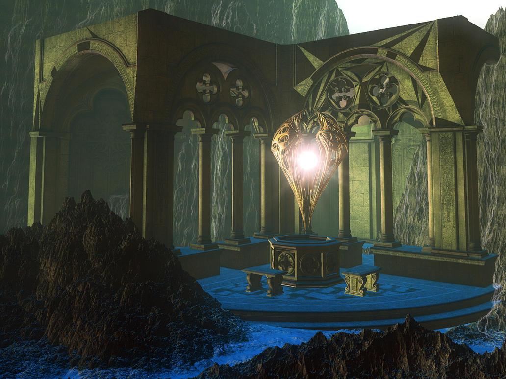 Temple of The Sun by Casperium