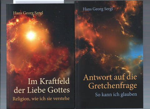 Hans Georg Sergl books, cover by Ali Ries