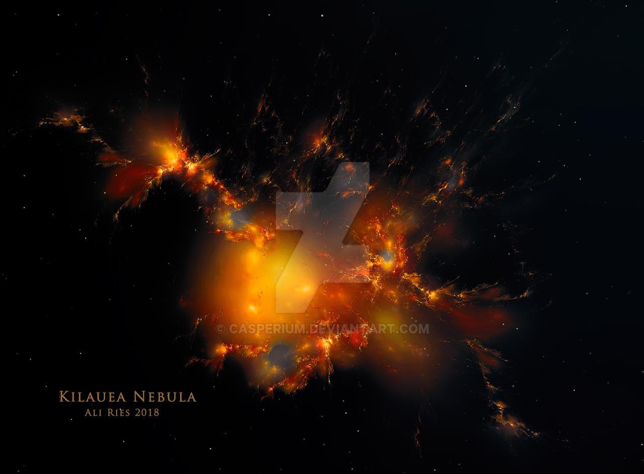 Kilauea Nebula byAli Ries 2018 by Casperium