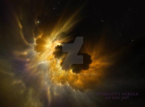 Scarlett's Nebula by Ali Ries 2009