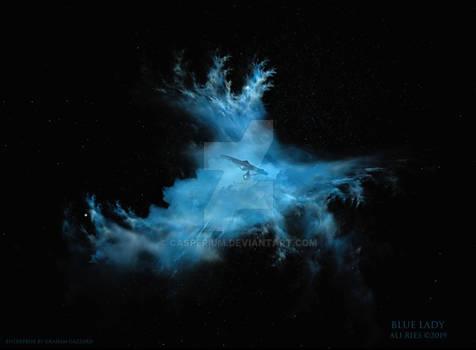 Blue Lady by Ali Ries 2019