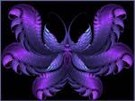 Papillon cerulea