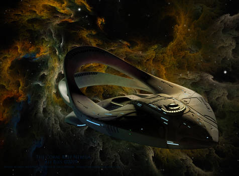 The Orville-The Coral Reef Nebula by Ali Ries 2019