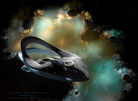 The Orville-The Cratered Nebula by Ali Ries 2019