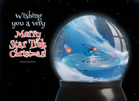 Star Trek Xmas Globe