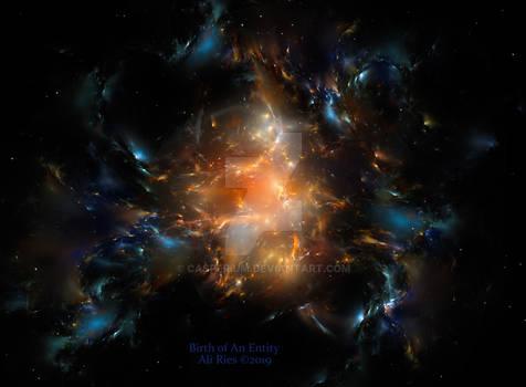 Birth Of An Entity by Ali Ries 2019