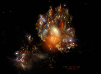Cat's Paw nebula by Ali Ries 2020