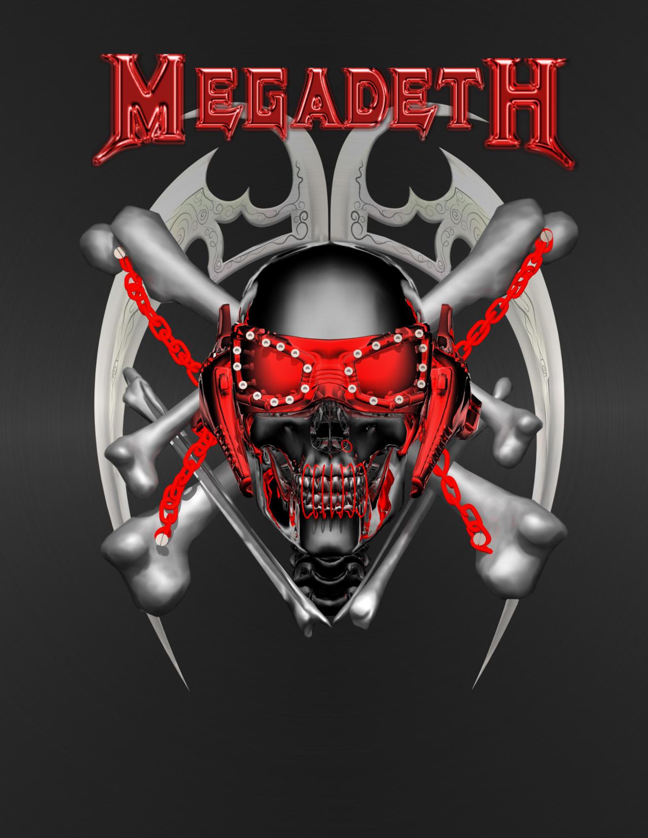Megadeth by Casperium