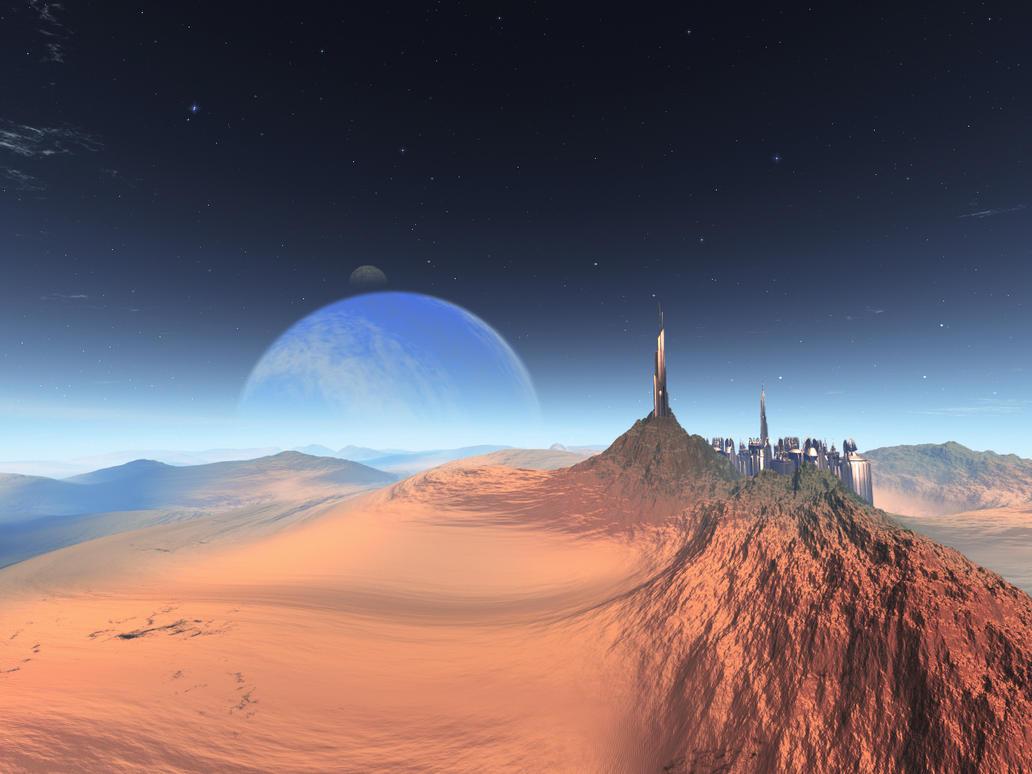 Sand City by Casperium