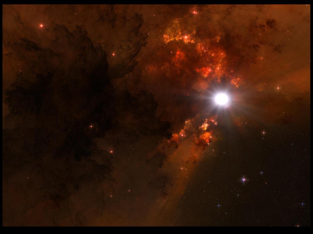 Tyr Nebula by Casperium