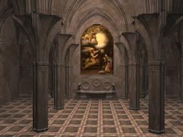 Chapel Stock 2 by Casperium