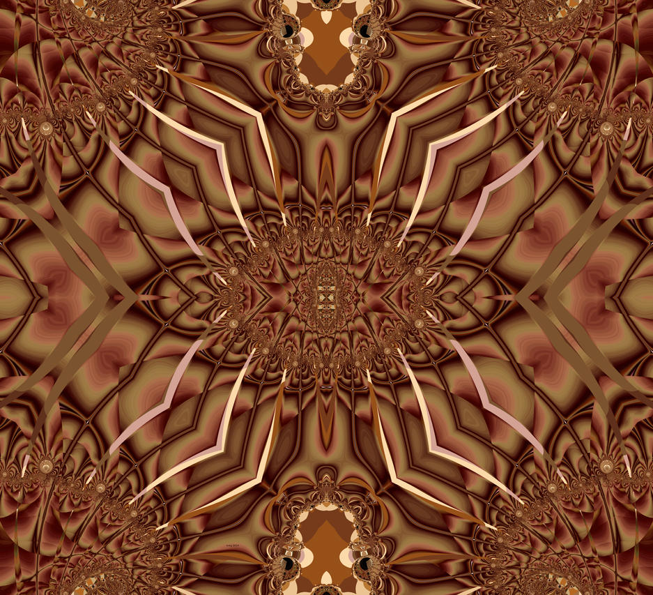 Brown is Brown Kaleidoscope by wildwanderingirl