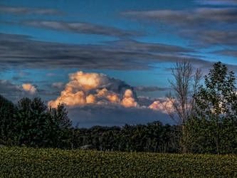Sunset Clouds 1 by WildWanderinGirl