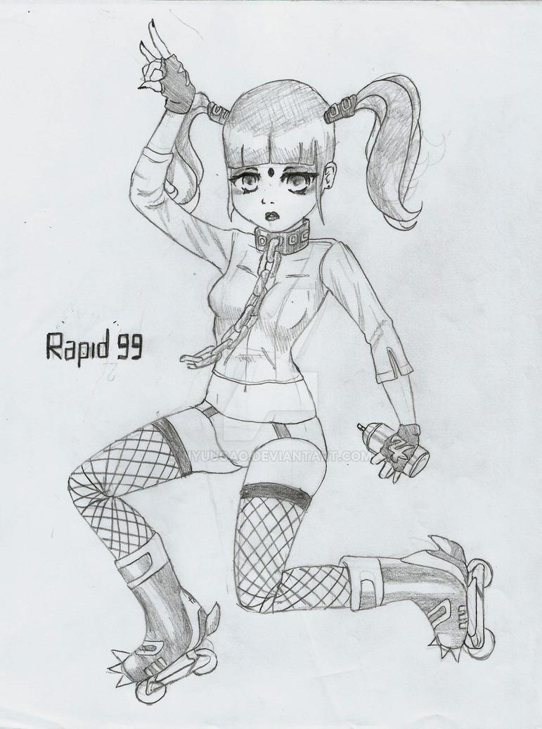 RAPID 99-/ Serious Beauty/ Ladies of JSRF by Nyuugao