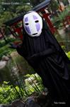 Kaonashi- Spirited Away- by Nyuugao