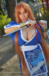 Kasumi: Fight for Justice- DOA Cosplay by Nyuugao