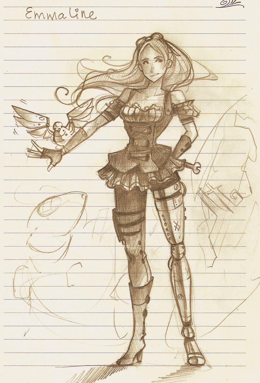 Emmaline by Elentori