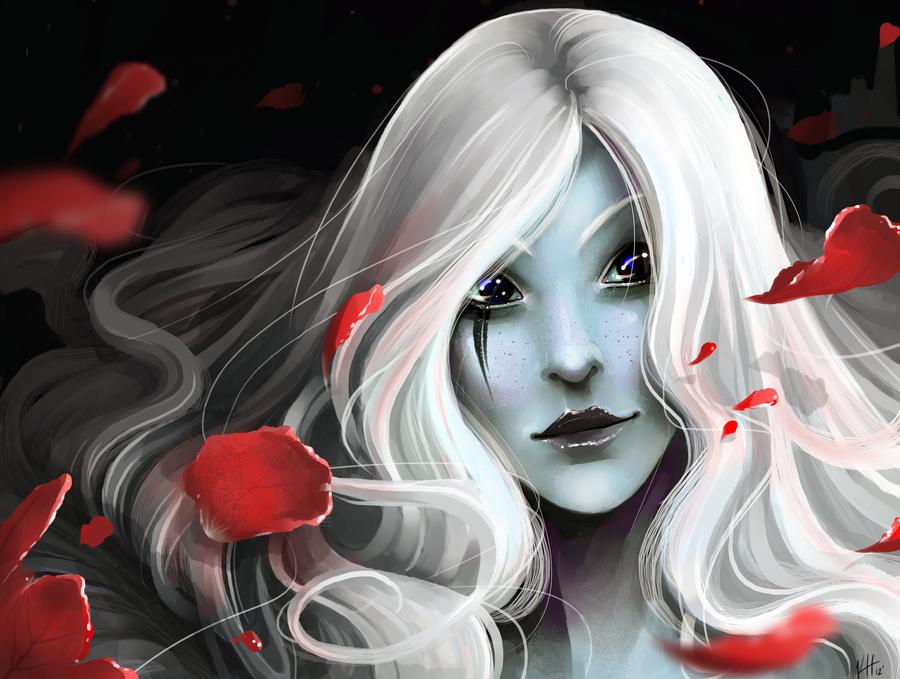 Blood Rose by Elentori