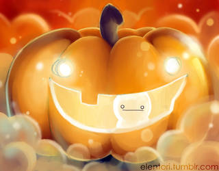 Cry's Pumpkin by Elentori