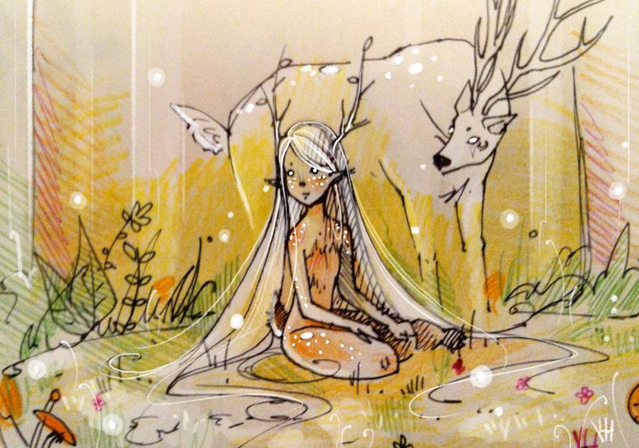 Little Deer by Elentori