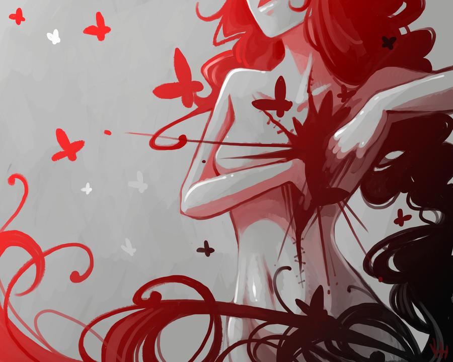 Butterfly by Elentori