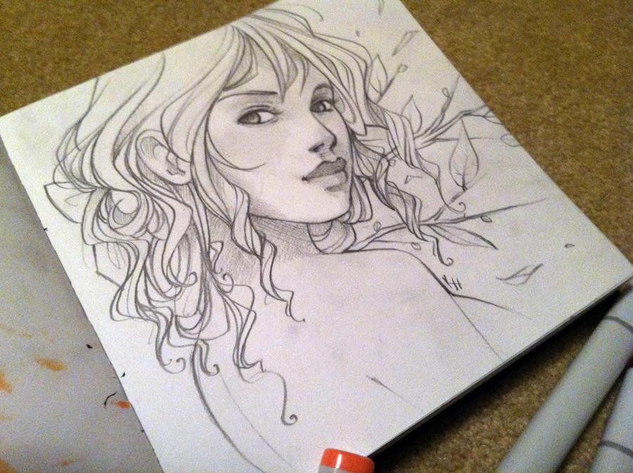 Lady-WIP by Elentori