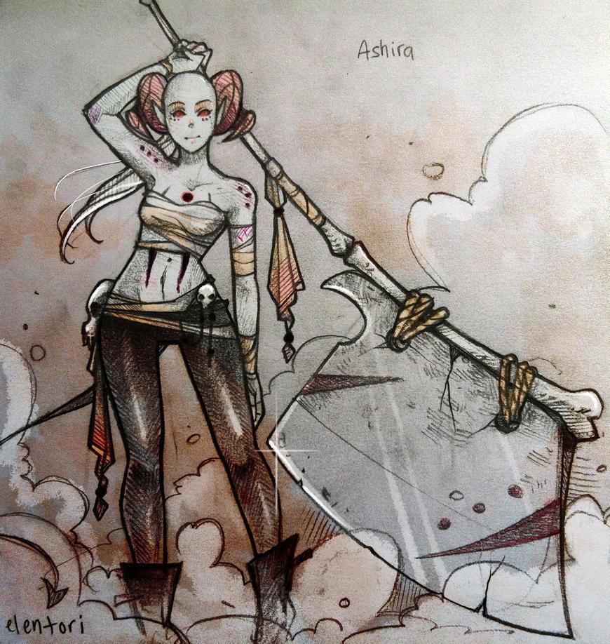 Ashira by Elentori