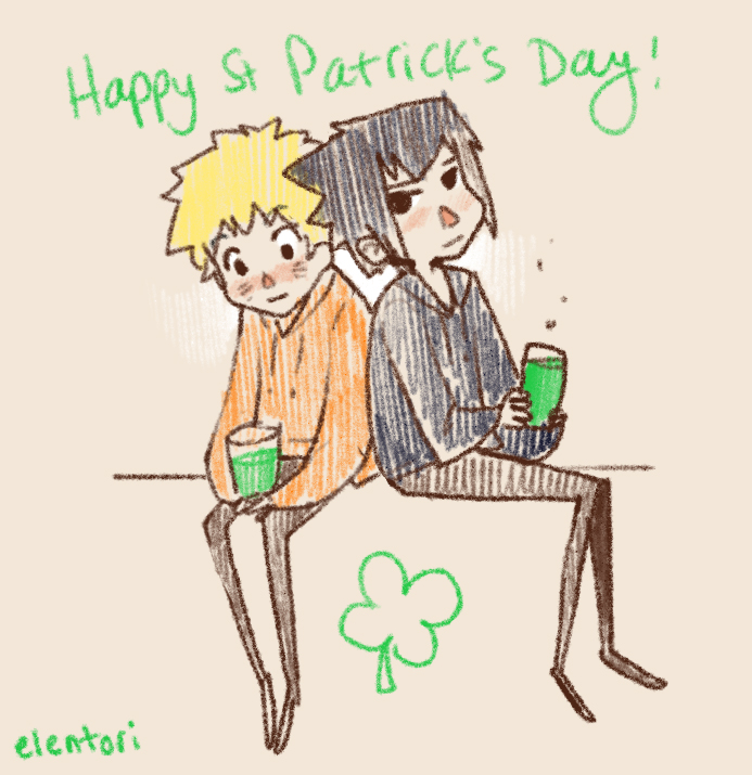 St Patrick's Day by Elentori