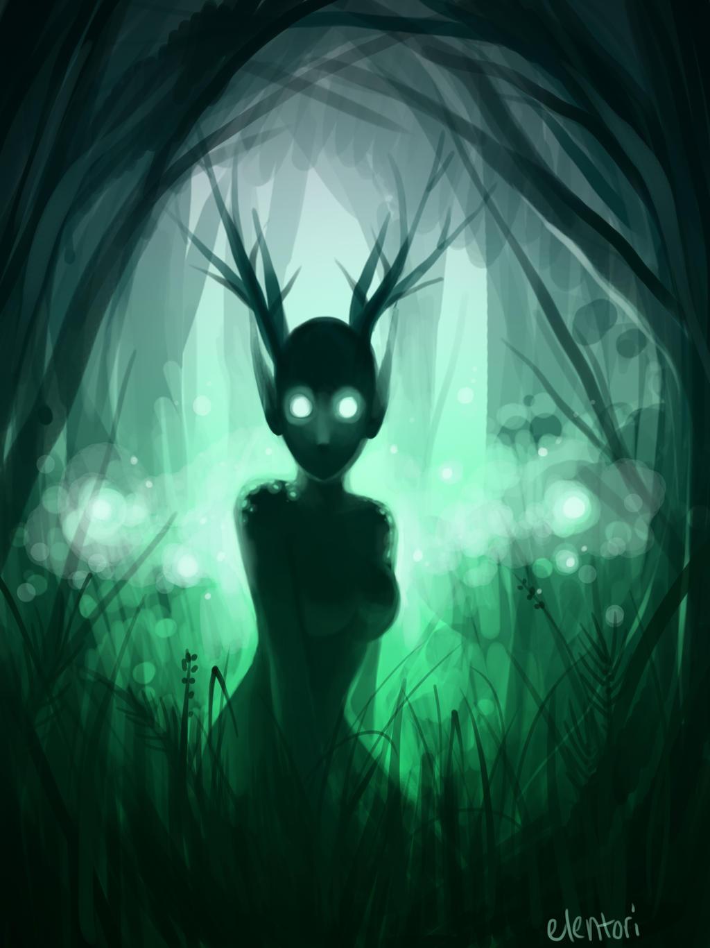 Deer Spirit by Elentori
